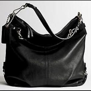 Coach Brooke hobo in black